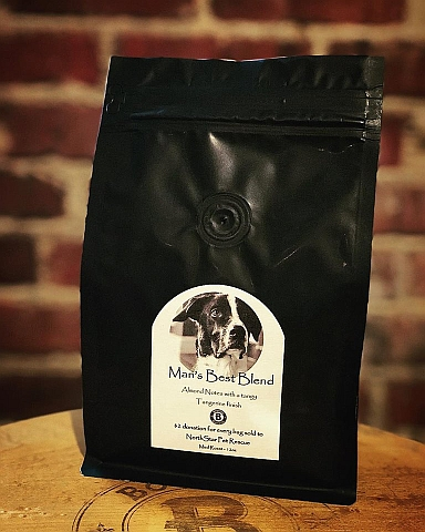 Love Coffee?  Love dogs?  Check this out!
