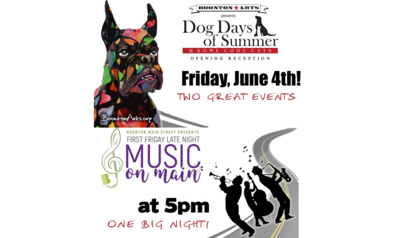 Boonton Dog Days of Summer & Some Cool Cats! +Music on Main!